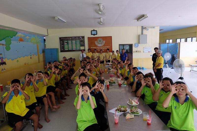 บริการวิชาการ ณ สถานพินิจและคุ้มครองเด็กและเยาวชนจังหวัดปทุมธานี